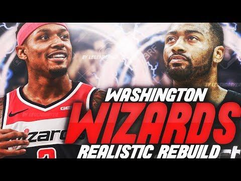 TRADING BRADLEY BEAL!! REBUILDING THE WASHINGTON WIZARDS!! NBA 2K19