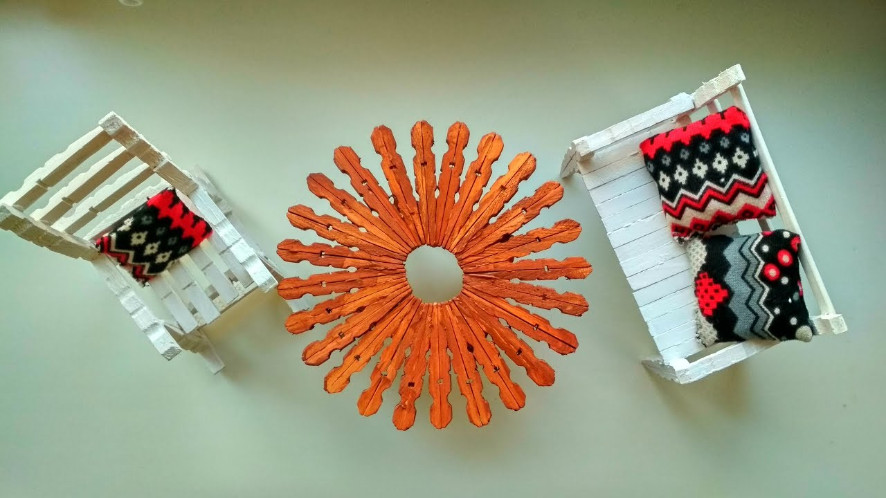 Awesome Ideas With Clothespin Diy Crafts Tutorial Youtube