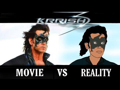 Download Krrish movie vs reality | animated spoof | hrithik roshan | priyanka | funny animation