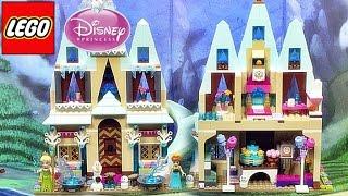 레고 41068 디즈니 프린세스 겨울왕국 아렌델 성 조립 리뷰 LEGO Disney Princess Arendelle Castle Celebration