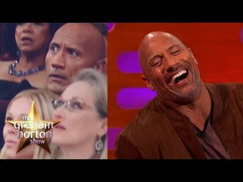 Dwayne 'The Rock' Johnson Almost Laid The Smackdown At The Oscars  The Graham Norton