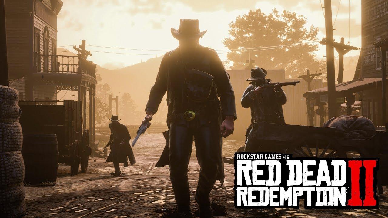Red Dead Redemption 2 공식 게임 플레이 영상 (4K)