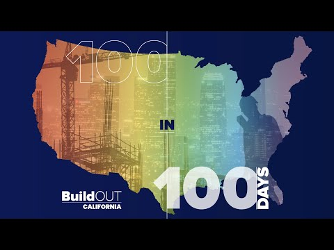 2021 BuildOUT California 100 in 100 Days Campaign