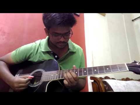 Tera dhyan kidhar hai instrumental guitar