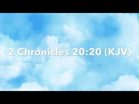 God's Tine: 2 Chronicles 20:20 ( KJV)