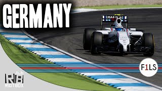 F1 2014 Live Season League - Germany Full Race (Gameplay PC)