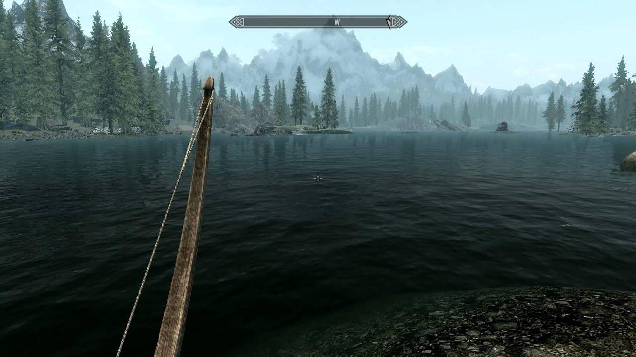 Skyrim Water Flickering