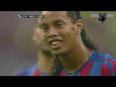 Barcelona 2   1 Arsenal Champions League Final 2006 Highlights    Ai Restored