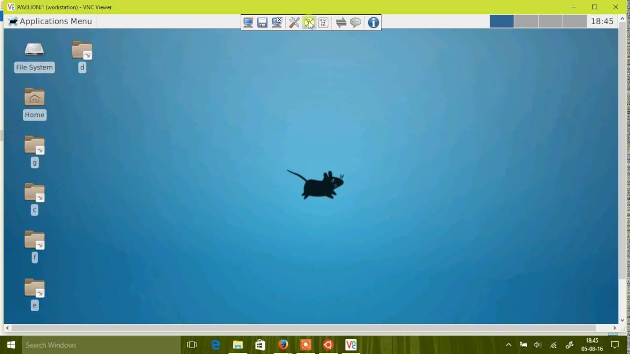 Xfce4 on Bash on Ubuntu on Windows 10 (WSL)