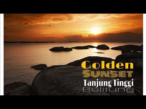 golden-sunset-dari-pantai-tanjung-tinggi-pulau-belitung-#explorebelitong-part3