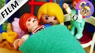 Film Playmobil en français - Julian a pris froid! Enfant malade - Emma joue au docteur Famille Brie