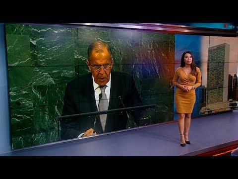 Russian FM condemns Trump's anti-Iranian rhetoric