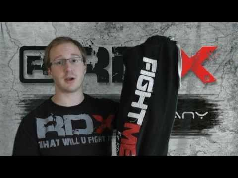 Authentic RDX Fight ME Fleece Pants Trousers MMA Gym Bottoms