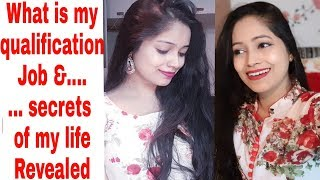 पहली बार I revealed my secrets my job, qualification whatever you asked|Be Natural|Rekha