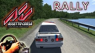 Assetto Corsa - Rally Stage with BMW Group A @ Joux Plane (mod), PC sim Gameplay. HD 2014