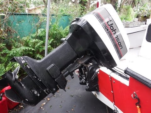 How to Manually Lift or Lower your Outboard Engine