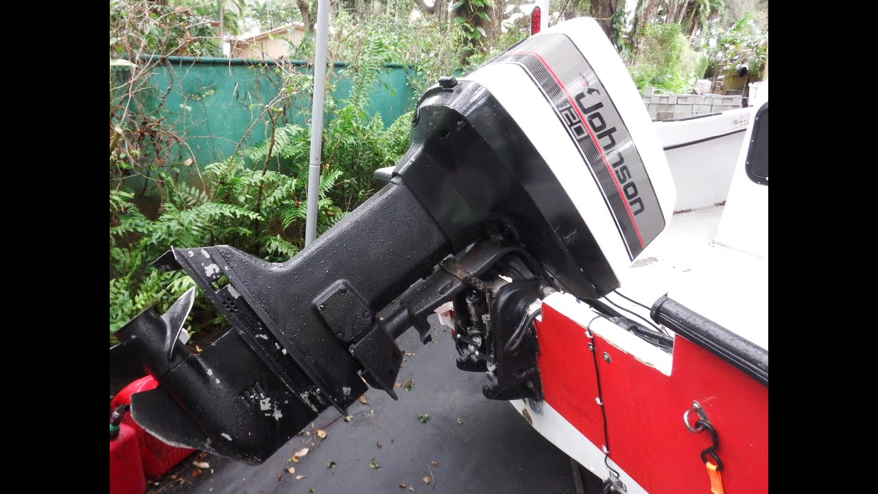 How to Manually Lift or Lower your Outboard Engine  YouTube