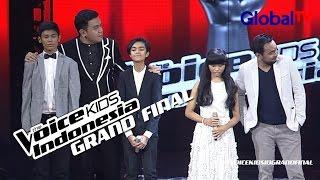 Pengumuman Juara   3 Besar Grand Final   The Voice Kids Indonesia GlobalTV 2016