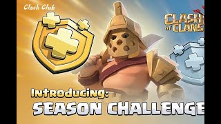 Clash of Clans New seasonal update 2019 review, new Gladiator Skin,no hero and troop level upgrades