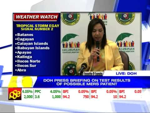 DOH: Foreigner tests positive for MERS