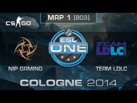 NiP Gaming vs. Team LDLC (Map 1) - ESL One Cologne 2014 - Semifinals - CS:GO