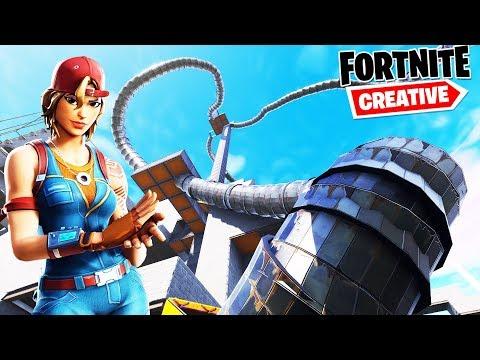 Fortnite ESCAPE SLIDE DLA PRAWDZIWYCH PROSÓW🤯   Fortnite Creative