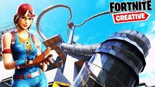 Fortnite ESCAPE SLIDE DLA PRAWDZIWYCH PROSÓW | Fortnite Creative