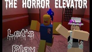 Primer video de ROBLOX-The Horror Elevator.
