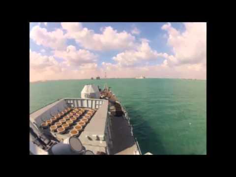 Time-Lapse Suez Canal Transit