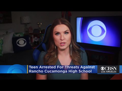Teen Arrested For Shooting Threats Against Rancho Cucamonga High School