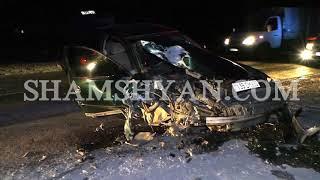 Խոշոր ավտովթար Կոտայքի մարզում  բախվել են Opel ն ու Volkswagen ը, կա վիրավոր