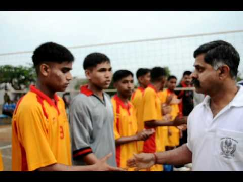 Sainik School, Bijapur-South Zone-Volley ball-SSBJ VS Amaravathinagar-intro.avi