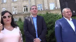 28-я годовщина независимости Молдовы. Возложение цветов к памятнику Штефана чел Маре