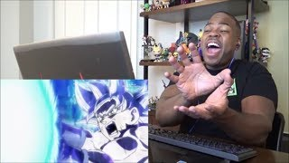 Super Dragon Ball Heroes: Episode 6 [Ultra Instinct Goku Vs Cumber] - REACTION!!!