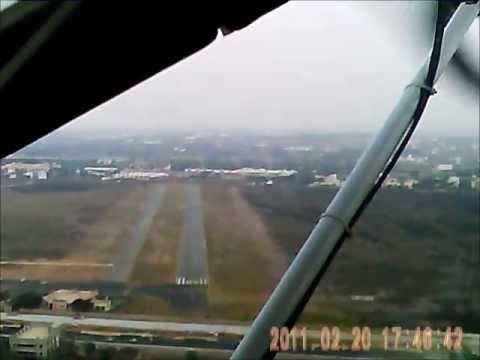 Microlight flying in Bangalore, Jakkur Aerodrome