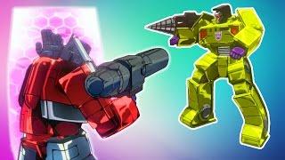 ТРАНСФОРМЕРЫ Режим ИСПЫТАНИЙ Мультик для детей про сражения АВТОБОТОВ Игра Transformers Devastation