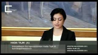Hadia Tajik: Faglig sterke elever og fellesskolen - åpningsinnlegg