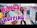 Getting Tiana's Nails Done 💅 Fall Shopping 👾 Kids Arcade Games