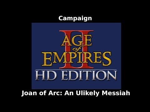 Age of Empires 2 HD Campaign: Joan of Arc 2 The Maid of Orleans