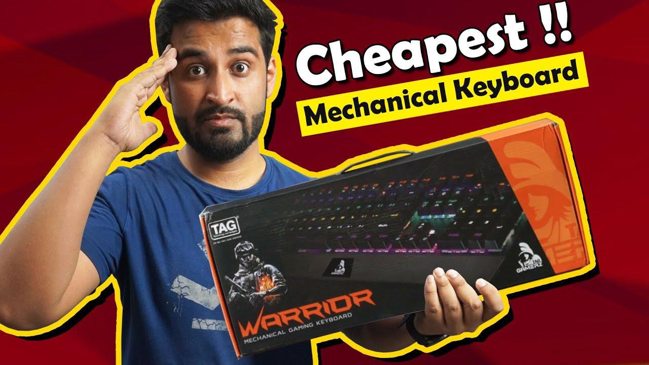 I Bought Cheapest Mechanical Keyboard !