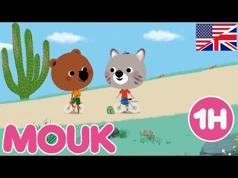 1 hour of Mouk | Compilation #1 HD | Cartoon for kids