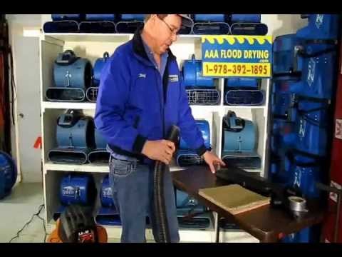 How to Remove Water from Wet Carpet, Pad, Basement Flood Damage Cleanup