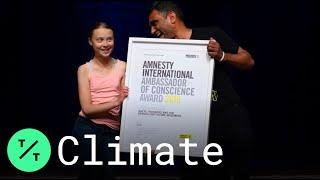 Climate Activist Greta Thunberg Receives Amnesty International Award