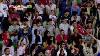 2017 07 20 DEAFLYMPIC HANDBALL TURKEY- BRAZIL MEN