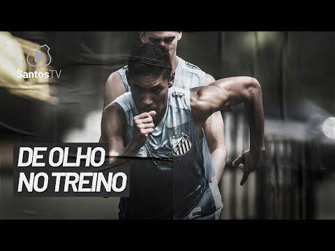 SANTOS FC TREINA NO CT REI PELÉ