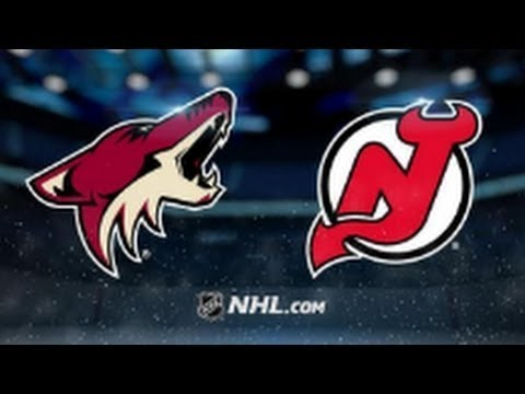 NHL 18 PS4. REGULAR SEASON 2017-2018: Arizona COYOTES VS New Jersey DEVILS. 10.28.2017. (NBCSN) !