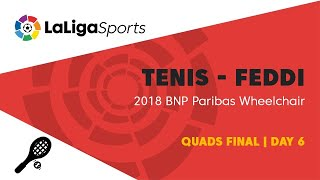 📺 Quads Final | Day 6 | 2018 BNP Paribas Wheelchair Tennis World Team Cup