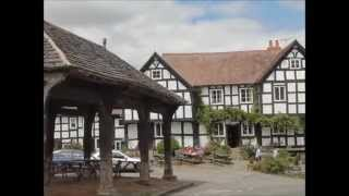 Black and White villages Herefordshire