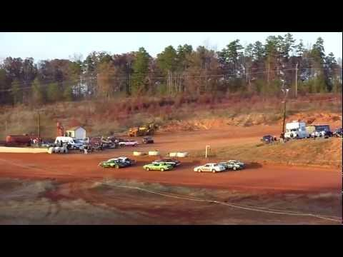 11-12-2011 Pure Stock V8 Main Cleveland County Speedway