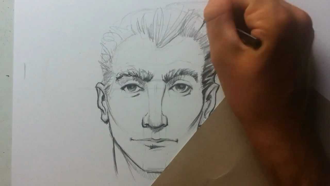 Uncategorized Videos Of Drawing drawing tips tricks with brandon lesson 1 male head youtube